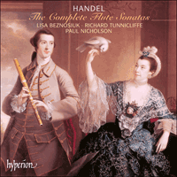 Cover of CDA67278 - Handel: The Complete Flute Sonatas