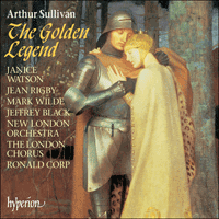 Cover of CDA67280 - Sullivan: The Golden Legend