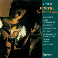 Cover of CDA67281/2 - Vivaldi: Sacred Music, Vol. 4 � Juditha Triumphans