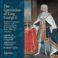 Cover of CDA67286 - The Coronation of King George II