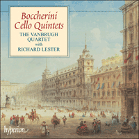 Cover of CDA67287 - Boccherini: Cello Quintets, Vol. 1