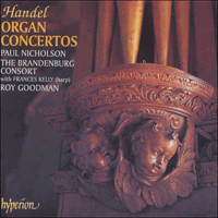 Cover of CDA67291/2 - Handel: Organ Concertos