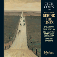 Cover of CDA67293 - Coles: Music from Behind the Lines