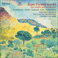 CDA67294 - Rare French works for violin and orchestra