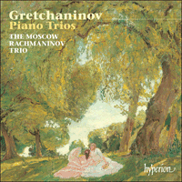Cover of CDA67295 - Grechaninov: Piano Trios