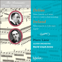 Cover of CDA67296 - Delius & Ireland: Piano Concertos