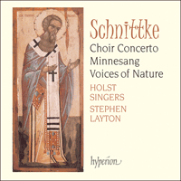 Cover of CDA67297 - Schnittke: Choir Concerto & Minnesang