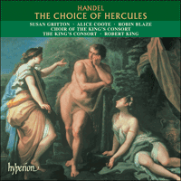 Cover of CDA67298 - Handel: The Choice of Hercules
