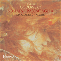 Cover of CDA67300 - Godowsky: Sonata & Passacaglia