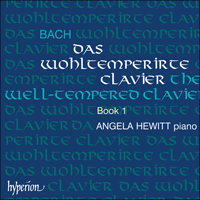 Cover of CDA67301/2 - Bach: The Well-tempered Clavier, Vol. 1