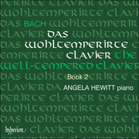 Cover of CDA67303/4 - Bach: The Well-tempered Clavier, Vol. 2