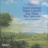 Cover of CDA67306 - Bach: Italian Concerto & French Overture