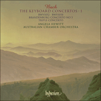 Cover of CDA67307 - Bach: The Keyboard Concertos, Vol. 1