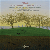 Cover of CDA67308 - Bach: The Keyboard Concertos, Vol. 2