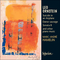 Cover of CDA67320 - Ornstein: Piano Music