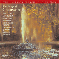 Cover of CDA67321/2 - Chausson: Songs