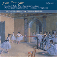 Cover of CDA67323 - Fran�aix: Orchestral Music