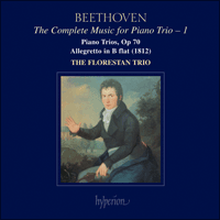 Cover of CDA67327 - Beethoven: The Complete Music for Piano Trio, Vol. 1