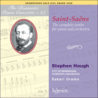 Cover of CDA67331/2 - Saint-Sa�ns: The complete works for piano and orchestra