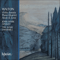 Cover of CDA67340 - Walton: Chamber Music