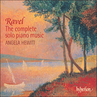 Cover of CDA67341/2 - Ravel: The Complete Solo Piano Music