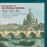 Cover of CDA67350 - Zelenka: Sacred Music