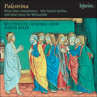 Cover of CDA67353 - Palestrina: Missa Dum complerentur & other sacred music