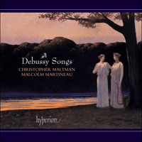 Cover of CDA67357 - Debussy: Songs, Vol. 1
