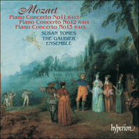Cover of CDA67358 - Mozart: Piano Concertos Nos 11, 12 & 13