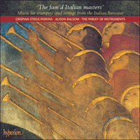 Cover of CDA67359 - The fam'd Italian masters