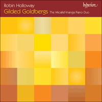 Cover of CDA67360 - Holloway: Gilded Goldbergs