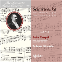 Cover of CDA67365 - Scharwenka: Piano Concertos Nos 2 & 3