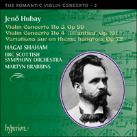 Cover of CDA67367 - Hubay: Violin Concertos Nos 3 & 4