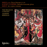 Cover of CDA67368 - Dufay: Missa Puisque je vis & other works