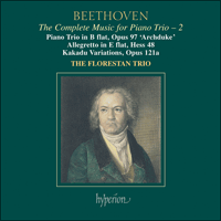 Cover of CDA67369 - Beethoven: The Complete Music for Piano Trio, Vol. 2
