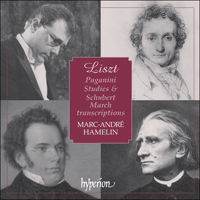 Cover of CDA67370 - Liszt: Paganini Studies & Schubert Marches
