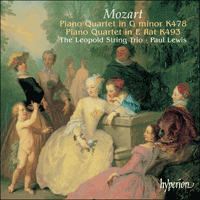 Cover of CDA67373 - Mozart: Piano Quartets