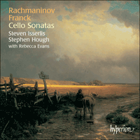 Cover of CDA67376 - Franck & Rachmaninov: Cello Sonatas