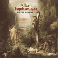 Cover of CDA67377 - Alkan: Esquisses Op 63