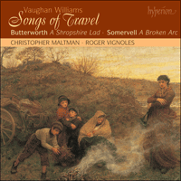 Cover of CDA67378 - Vaughan Williams: Songs of Travel; Butterworth: A Shropshire Lad