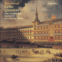 Cover of CDA67383 - Boccherini: Cello Quintets, Vol. 2