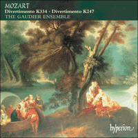 Cover of CDA67386 - Mozart: Divertimenti K247 & 334