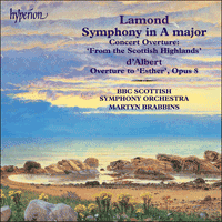 Cover of CDA67387 - Lamond: Symphony in A major