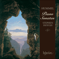 Cover of CDA67390 - Hummel: Piano Sonatas