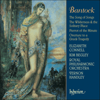 Cover of CDA67395 - Bantock: The Song of Songs