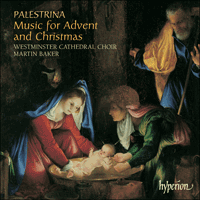 Cover of CDA67396 - Palestrina: Music for Advent & Christmas