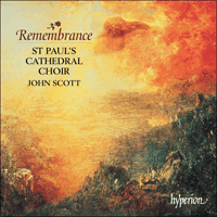 Cover of CDA67398 - Remembrance