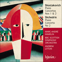 Cover of CDA67425 - Shostakovich & Shchedrin: Piano Concertos