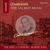 Cover of CDA67428 - Monteverdi: The Sacred Music, Vol. 1