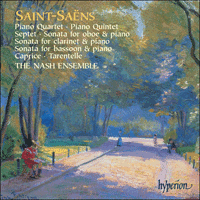 Cover of CDA67431/2 - Saint-Sa�ns: Chamber Music